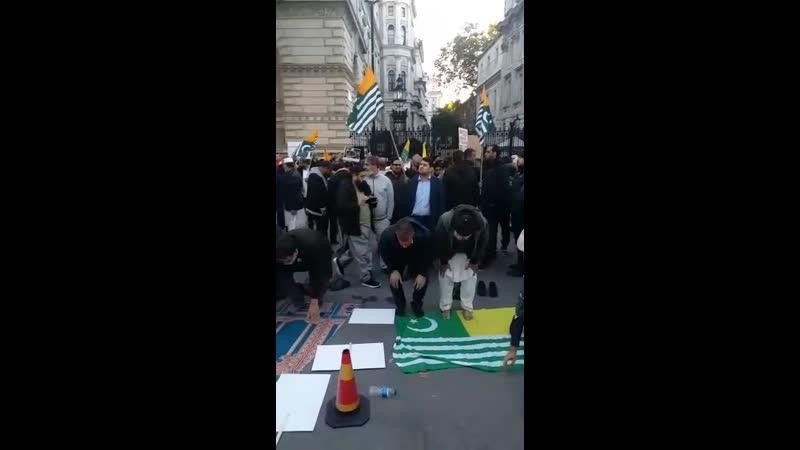 Pakistani beten in London