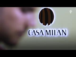 Первые моменты Тео в качестве игрока Милана