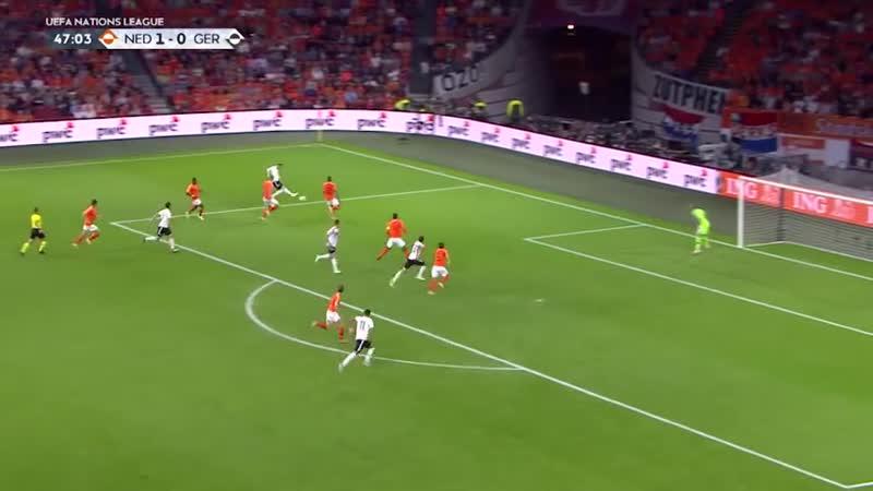 2018-10-13 Лига наций. Нидерланды - Германия (3-0)