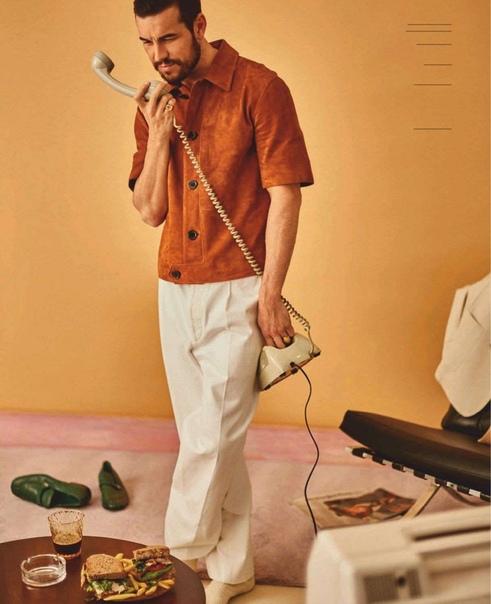 Марио Касас для GQ, Апрель 2020