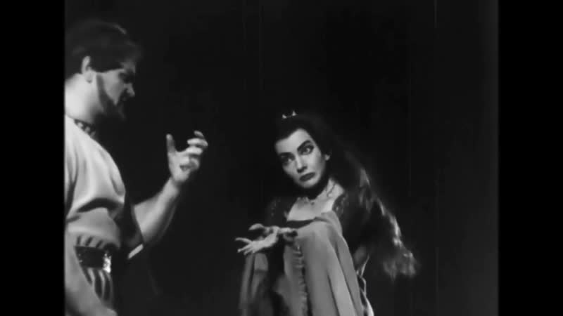 Maria Callas Medea Dallas Silent film