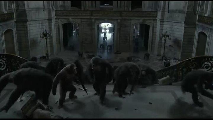 Планета обезьян Революция 2014 г (фантастика)