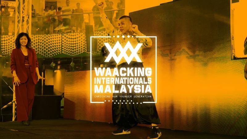 Team Ho Tung vs Team Mickey | 2v2 Top 16 | Waacking Internationals Malaysia 2019 | RPProds