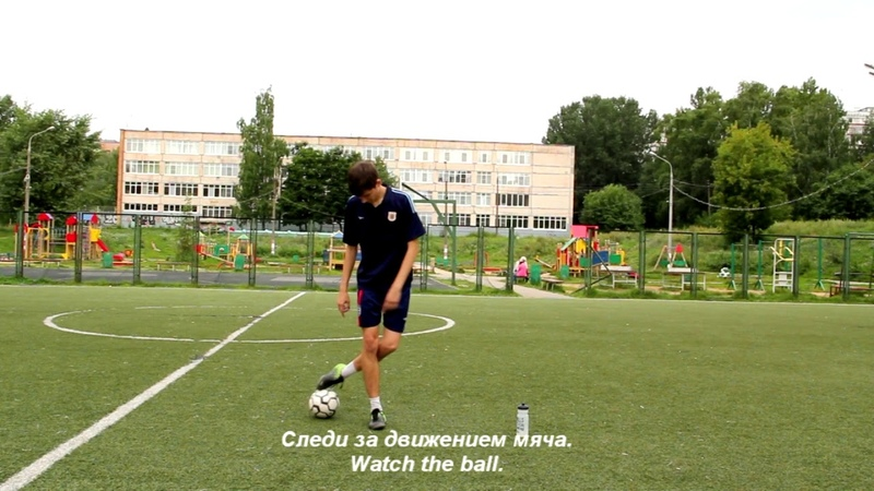 Движение Криштиану Роналду на контроль мяча: Side Jumping | Обучение финтам в футболе » Freewka.com - Смотреть онлайн в хорощем качестве