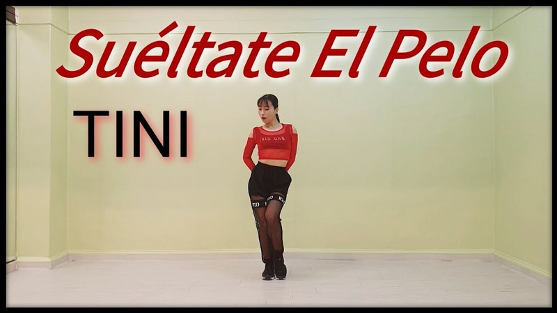 TINI - Suéltate El Pelo (COVER DANCE MIRROR) Yujin from Korea