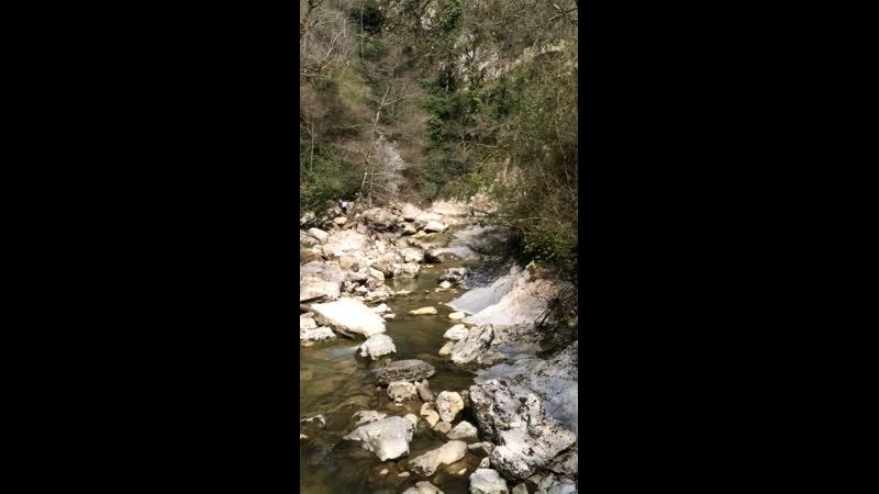 Агурские водопады и весёлье