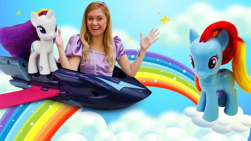 Precisamos consertar a nave espacial My Little Pony Conto de fadas da Princesa Sofia para meninas