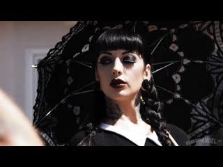 Jessie Lee - Very Adult Wednesday Addams - All Sex Big Tits Punk Goth Missionary Doggystyle, Porn