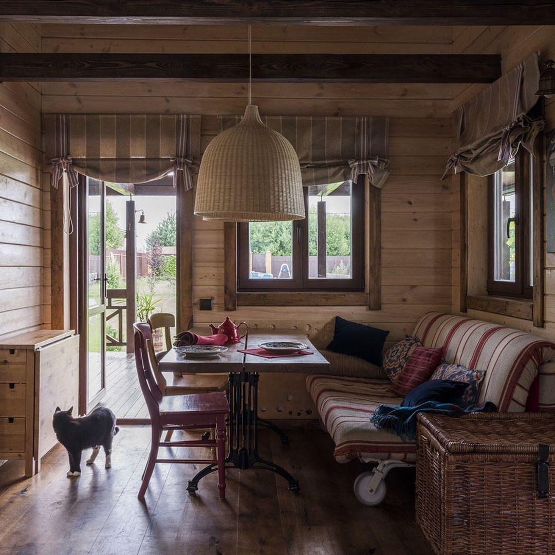Красота и очаpование кpасивого дачного дома