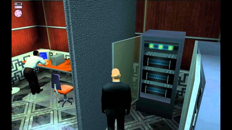 Hitman 2 Silent Assassin HD walkthrough Professional Mission 11 The Graveyard Shift