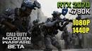 Call of Duty: Modern Warfare (BETA) - RTX 2070 OC i7 4790K | 1080p 1440p Max Settings