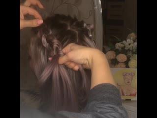 !!! Урок создания красивои прически на короткие волосы