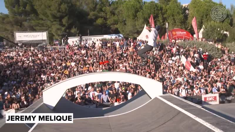 WS Roller Freestyle Park World Cup Final Top 5 FISE Montpellier 2018