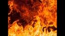 Пьяные всушницы из 128 й бригады сожгли штаб с документами