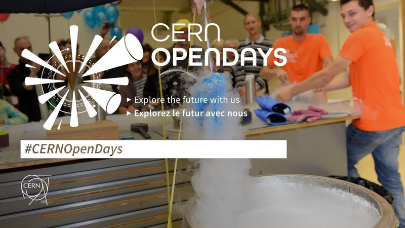 Live CERNOpenDays The CERN yesterday today and tomorrow
