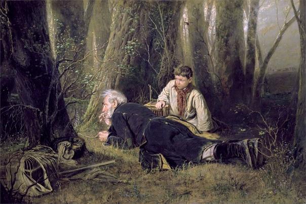 «Птицелов», Василий Григорьевич Перов