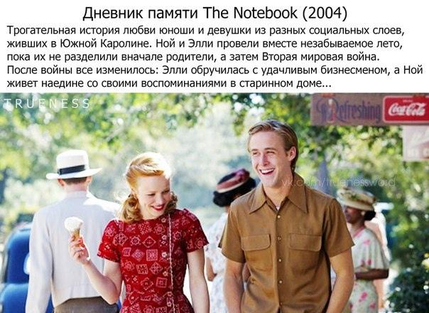 Фильмы, cнятые пo книгам Николаса Спаркса
