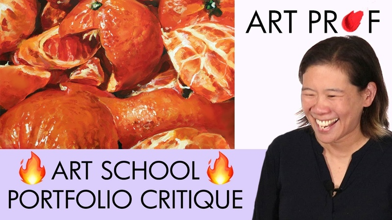 Art Professor Critiques Your Art School Portfolio