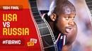 USA vs Russia | FINAL - Full Game | 1994 FIBA Basketball World Cup