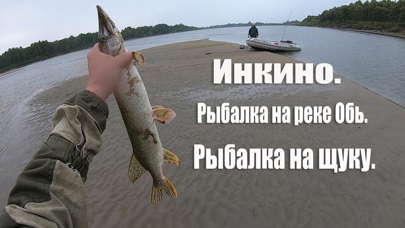 Инкино | Рыбалка на реке Обь | Русская рыбалка на щуку