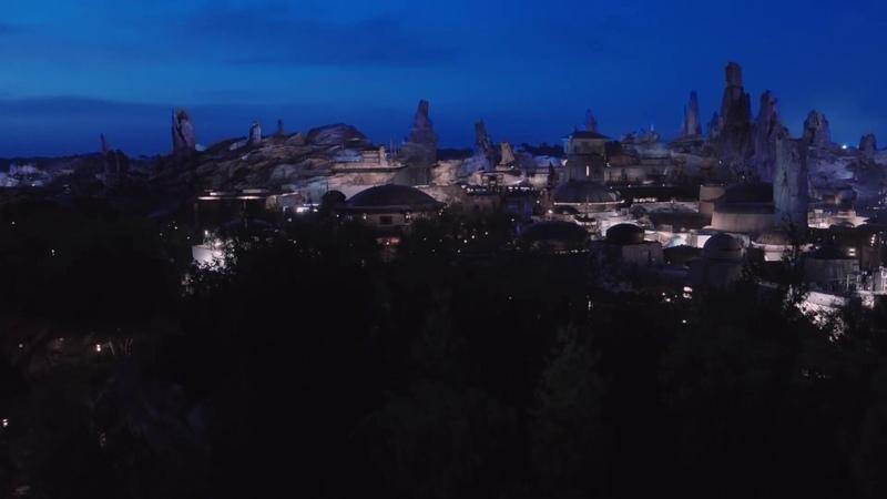 Bird's Eye View of Star Wars Galaxy's Edge at Disney's Hollywood Studios