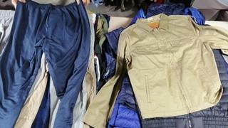 Мужские и женские куртки и, жилетки, пуховики. Хлопковые штаны, брюки, джинсы. Экимань Ново-Полоцк