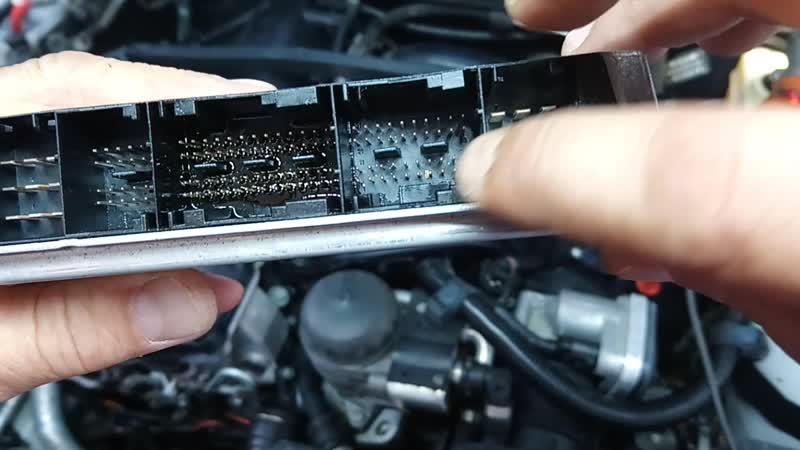 BMW 3 e46 n42 - На горячую не заводится, на холодную посторонний шум