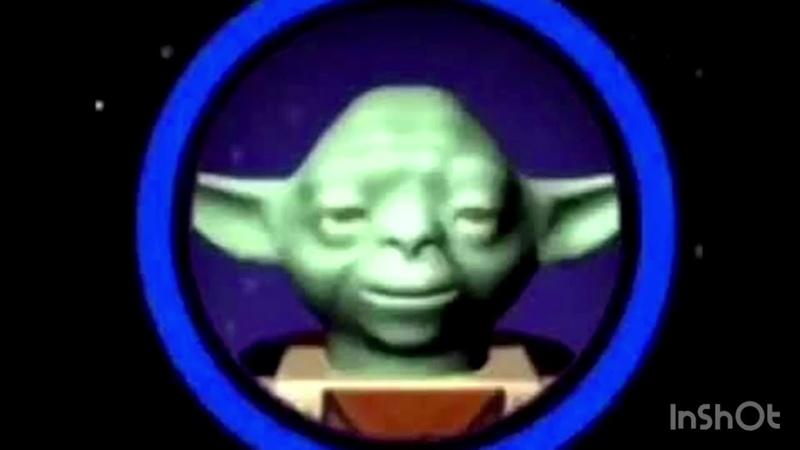 Lego Yoda says the N word