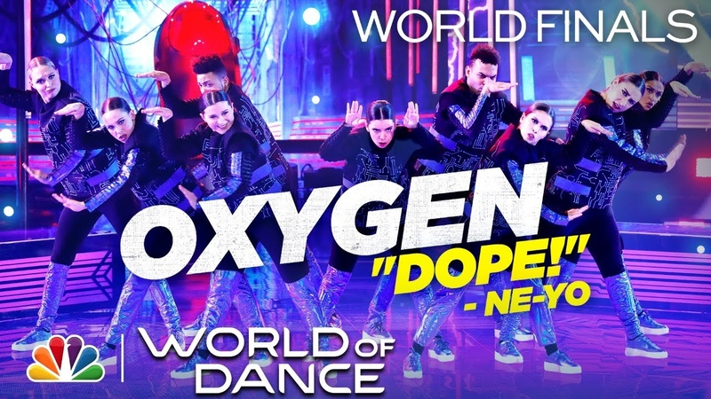 Oxygen Dances to Sail by Awolnation World of Dance The World Finals 2020