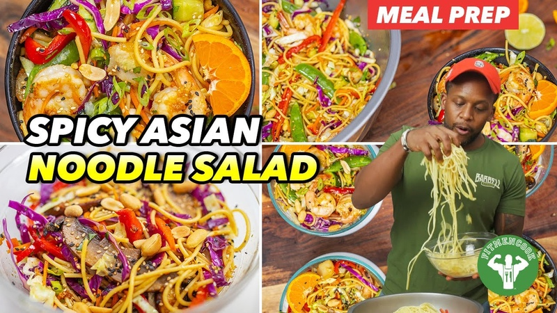 Meal Prep - Spicy Asian Noodle Salad