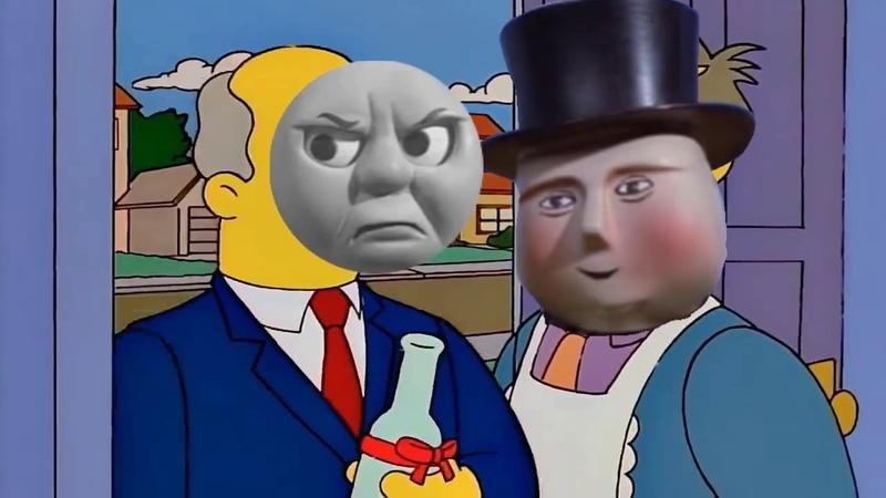 Thomas Visits Sir Topham Hatt Steamed Hams