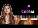 Анет Сай Слезы OST Пацанки ● караоке PIANO KARAOKE ● ᴴᴰ НОТЫ MIDI