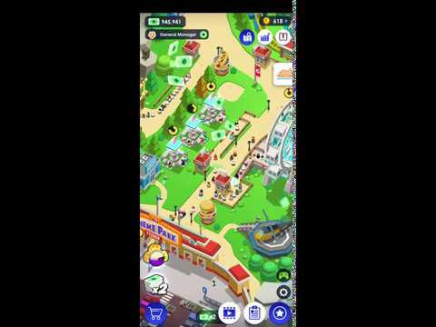 Idle Theme Park Tycoon - Recreation Game IOS-Android-Review-Gameplay-Walkthrough-Part 10