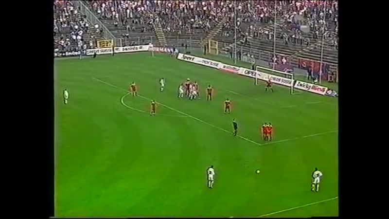 Товарищеский матч 1998 Швейцария Югославия