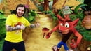 ИгроБой Видео для детей Обзор на игру Крэш Бандикут Компьютерные игры