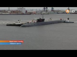 Подводный крейсер «князь владимир» завершил комплекс государственных испытаний