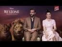 IL RE LEONE Intervista a Marco Mengoni ed Elisa voci italiane del film HOT CORN