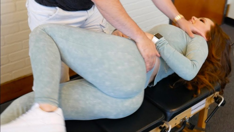 *WONDERFUL* FEET And FULL Upper Body ASMR Chiropractic Adjustment Compilation
