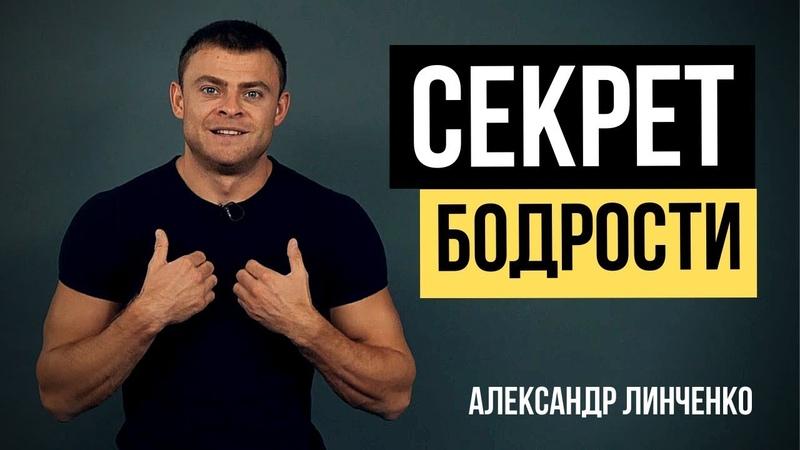 Секрет бодрости Рецепт бодрости и хорошего настроения на миллион Александр Линченко