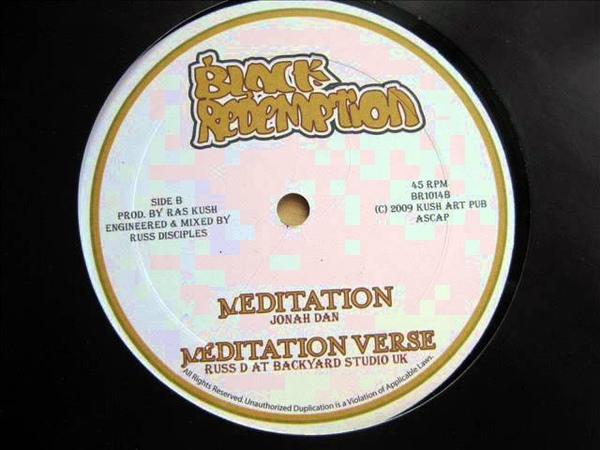 10 Side B: 1. Jonah Dan - Meditation / 2. Russ D at Backyard Studio UK - Meditation Verse