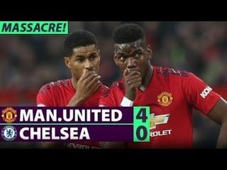 11. 08. 2019 1-й тур АПЛ Манчестер Юнайтед - Челси 4:0 Обзор матча Manchester United vs Chelsea 4-0 Highlights 2019 HD