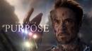 (Marvel) Tony Stark | Purpose