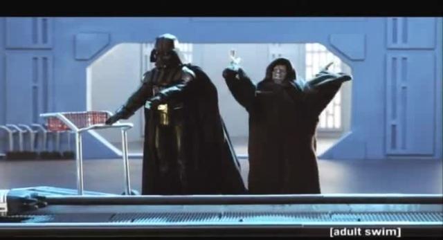 Отрывок из телемультшоу Робоцып Звездные войны эпизод 2