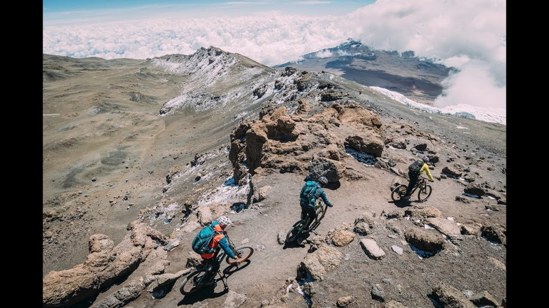 Mt.Kilimanjaro Mt. Kenya on MTB with Hans Rey, Danny MacAskill and Gerhard Czerner