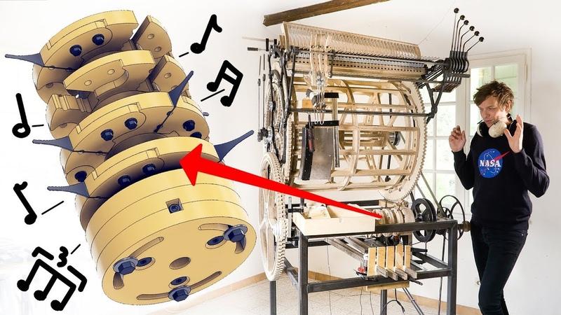 Testing the Mechanical Rhythm Machine - Marble Machine X 55