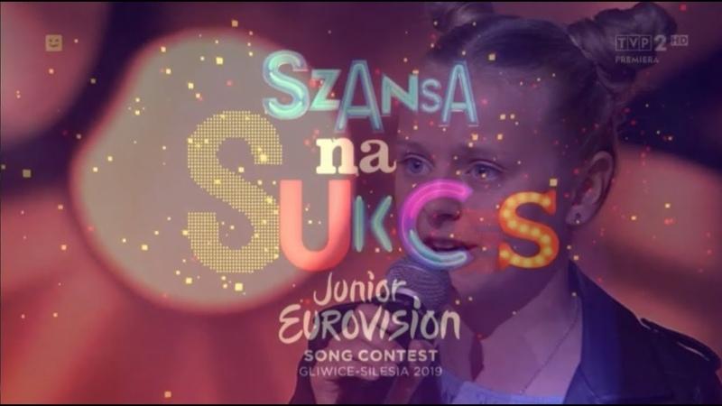 Gabriela Katzer trzecią finalistką Szansy Na Sukces Junior Eurovision Poland 2019