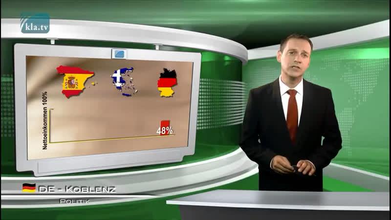 Wie sehr die Deutschen verarscht werden