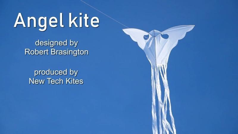 Angel kite by Robert Brasington