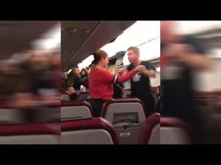 Скандал с Паниным в самолете