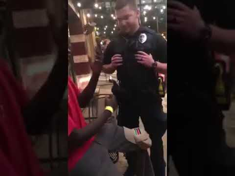 Black FBI agent arrested by white police officers see what happens at the end.